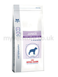 Royal Canin Vet Care Nutrition Canine Pediatric Junior Giant Dog