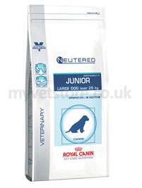 Royal Canin Vet Care Nutrition Canine Neutered Junior Large Dog
